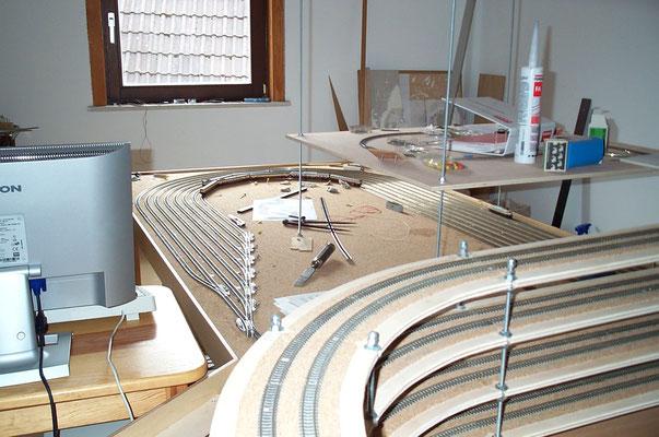 03.10.2007   So standen nun acht Gleise mit insgesamt 21 Abstellblöcken zur Verfügung.