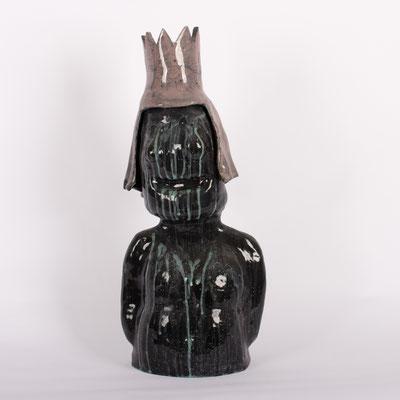 Untitled, glaze on ceramic, 2019