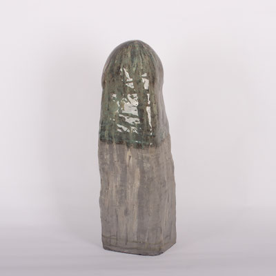 Untitled, glaze on ceramic, 2020