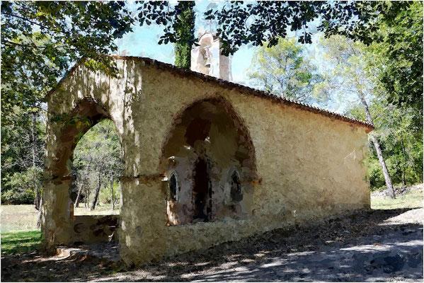 La Chapelle des Selves à Seillans (Var)