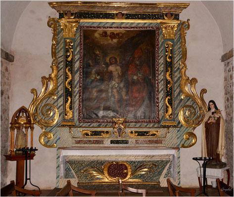 Troisième chapelle latérale