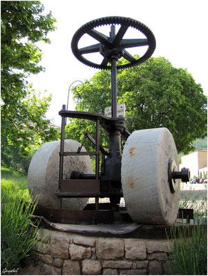 Mécanisme de l'ancien Moulin à Huile