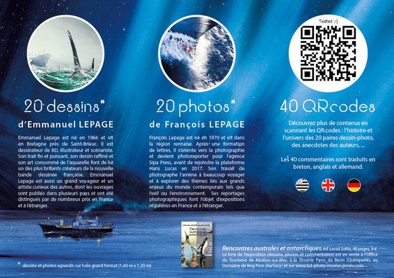 Photos : François Lepage - Dessins : Emmanuel Lepage - Conception & réalisation : Manu Bouhon
