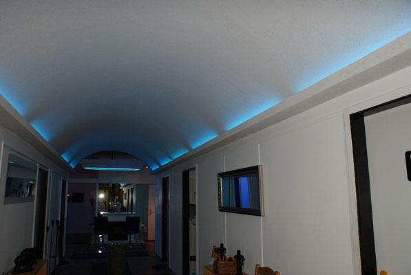 Trockenbau - Tunnelbau - LED