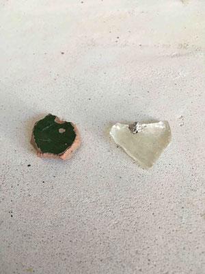 Sortation in matters of broken pieces