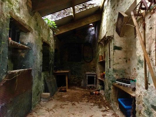 Blick in den alten Geräteraum