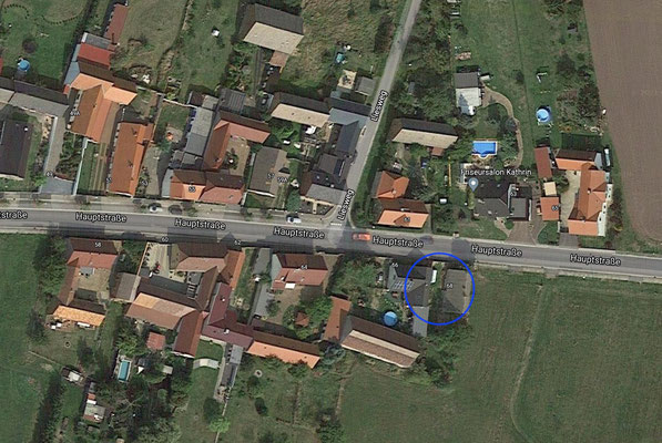 Location of house # 68 at the main road of Gorden