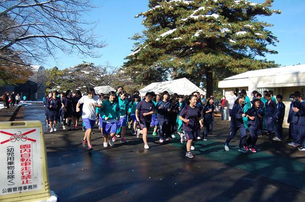 マラソン大会 <稲荷山公園>