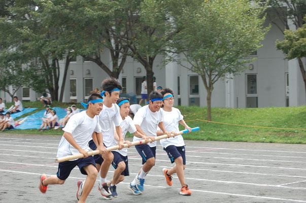 体育祭 <台風の目>