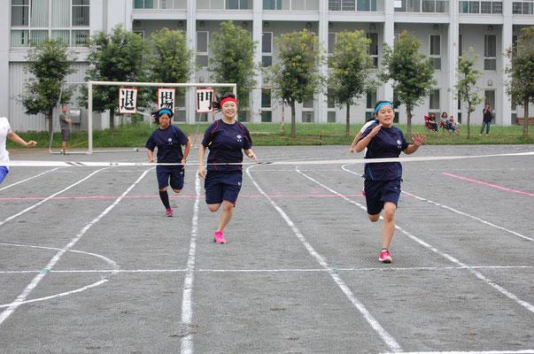 体育祭 <女子100m決勝>