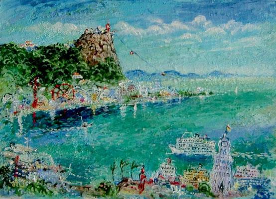 港の遊園地