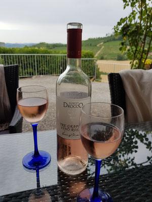 Der Rosato: Eher eine Seltenheit bei den piemontesischen Weinen.