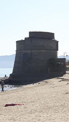 Dieser Turm ist ab und zu bewohnt