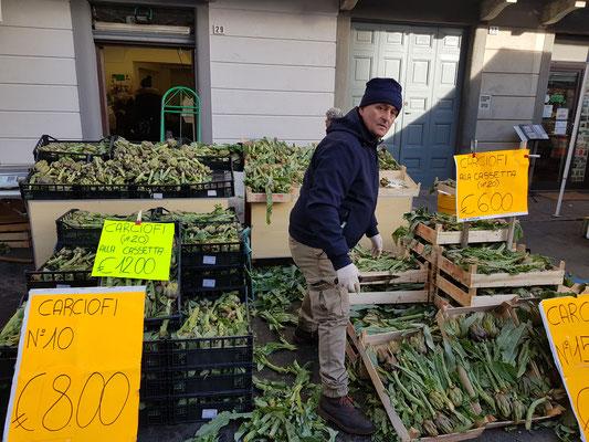 Frisch vom Markt . . .