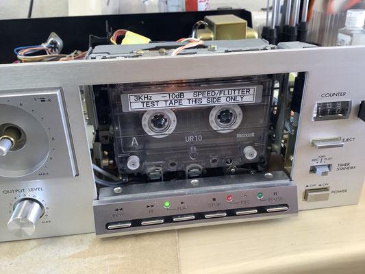 テストテープです