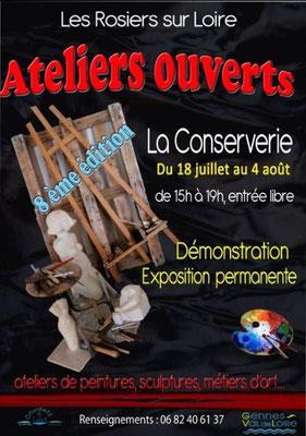 Les Ateliers Ouverts aux Rosiers-sur-Loire