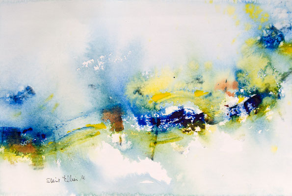 Art abstrait - 19 x 28 cm