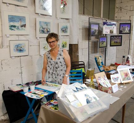 Martine SAINT ELLIER aquarelliste