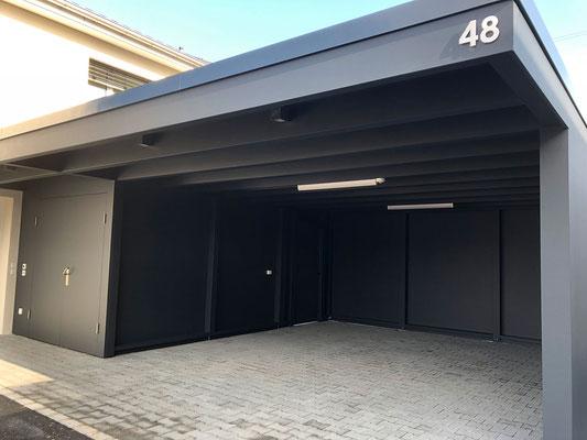 Garage in Holzbau - Kurt Strub Riken - Zimmerei | Dachbau | Spenglerei | Fassadenbau | Innenausbau