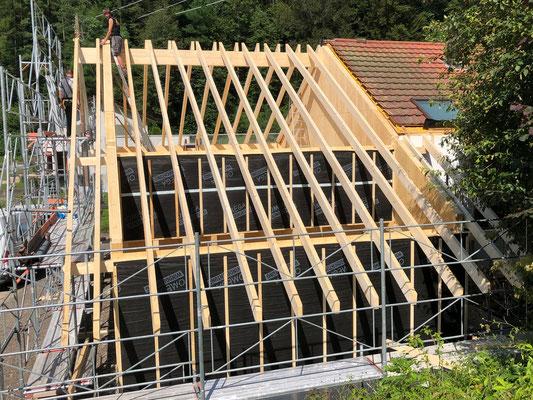 Vorfabriziertes Holzelementhaus - Kurt Strub Riken