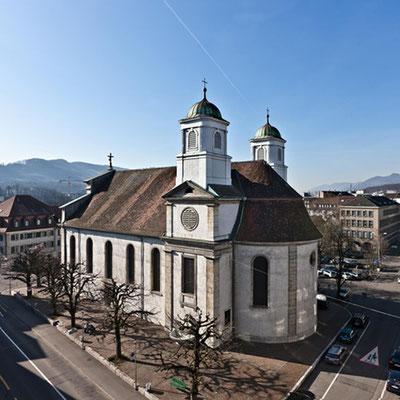 Stadtkirche Olten - Kurt Strub Riken - Zimmerei | Dachbau | Spenglerei | Fassadenbau | Innenausbau