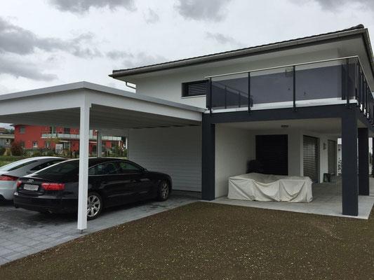 Unterstand - Kurt Strub Riken - Zimmerei | Dachbau | Spenglerei | Fassadenbau | Innenausbau