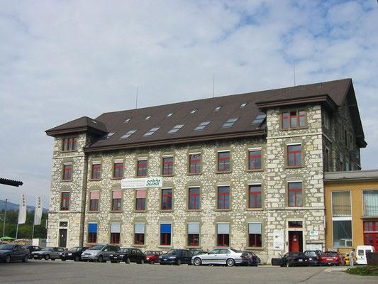 Alte Spinnerei - Kurt Strub Riken - Zimmerei | Dachbau | Spenglerei | Fassadenbau | Innenausbau