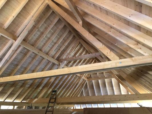 Erneuerung Dachkonstruktion Hochstudhaus - Kurt Strub Riken