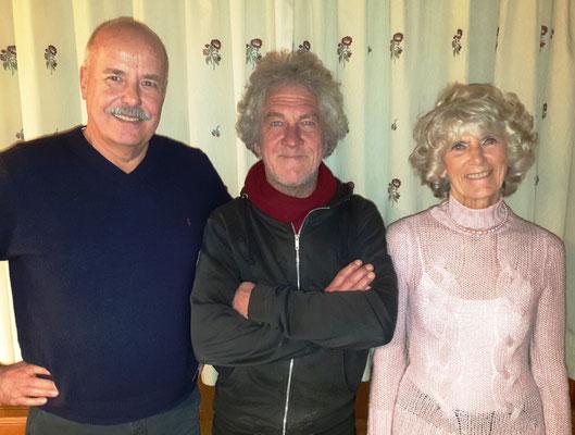 Das Siegertrio: Detlef Münnich – Hans Brandhofer – Annette Barthels