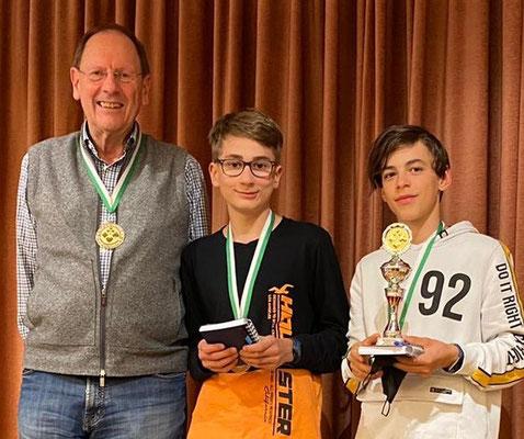 Albert Vosseler, Kilian Beck, Sieger Jakub Osvald