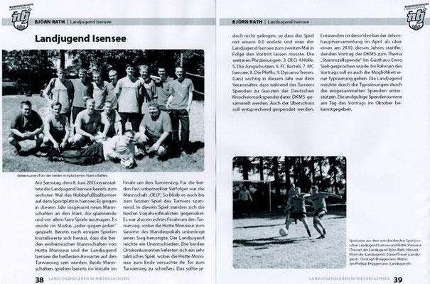 Fußballturnier 2013 (Quelle: Landjugend Magazin, Ausgabe 03/2013)