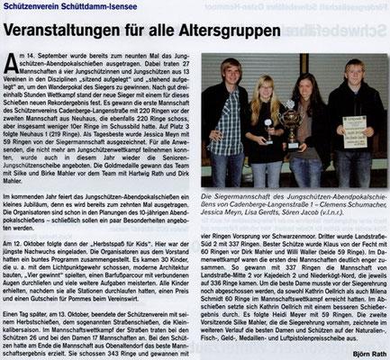 Herbstveranstaltungen 2013 (Quelle: Hemmoor Magazin, 5. Jahrgang, Nr. 15, Dezember 2013)