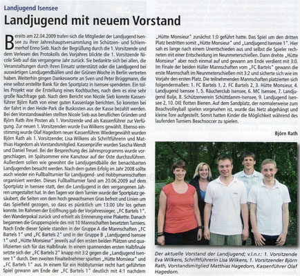(Quelle: Hemmoor Magazin, 1. Jahrgang, Nr. 2, September 2009)