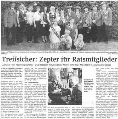 Schützenfest 2010 (Quelle: NEZ 21.07.2010)