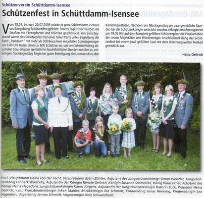 Schützenfest 2009 (Quelle: Hemmoor Magazin, 1. Jahrgang, Nr. 2, September 2009)