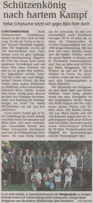Schützenfest 2014 (Quelle: Stader Tageblatt 23.07.2014)
