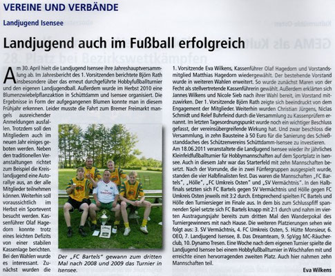(Quelle: Hemmoor Magazin, 3. Jahrgang, Nr. 8, September 2011)