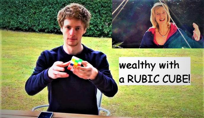 Rubik cube skills