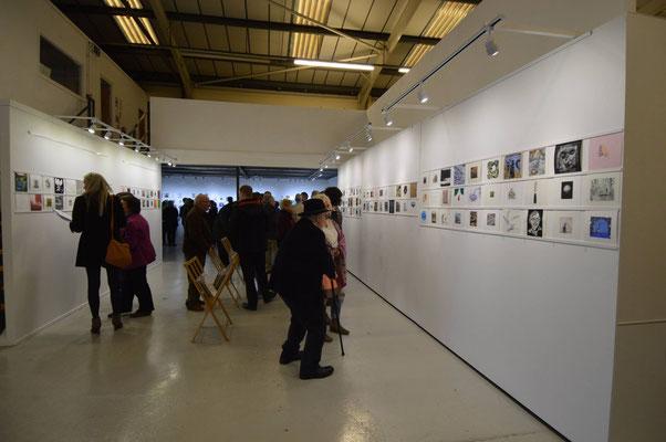 Seacourt 2016 Miniprint Biennal Opening 1