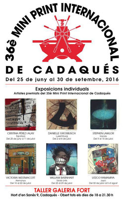 36th Mini Print International of Cadaqués 1