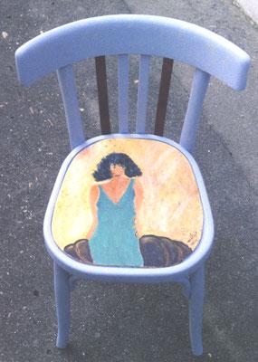 1999 Chaise série4  femme vendu