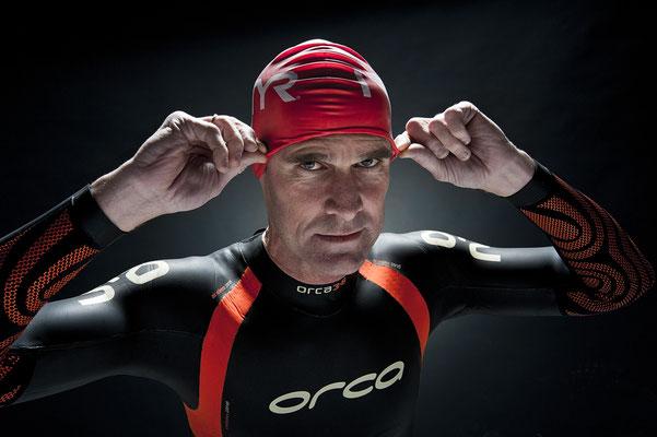 Peter van Egdom sport portret triathlon fotograaf Veenendaal
