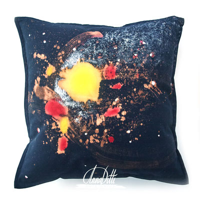 Milky way. Universe collection. 50×50cm. Cotton 100%. Avaliable in different sizes and colors
