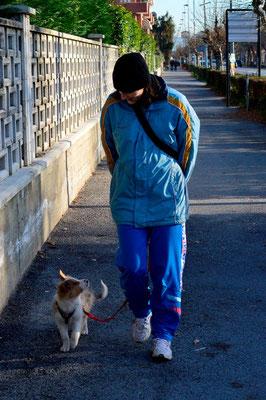le prime passeggiate insieme