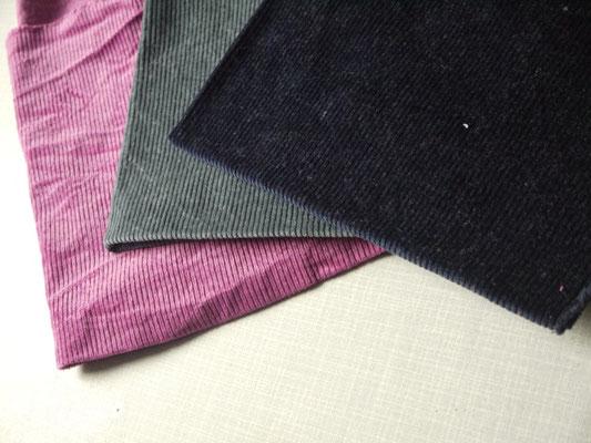 Dies sind die Farben nacht-blau, elegantes grau und sinnliche Beere von Simplicol.