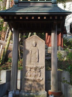 三反田210の庚申塔 延宝8年(1680)