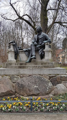 Fontane-Denkmal in Neuruppin