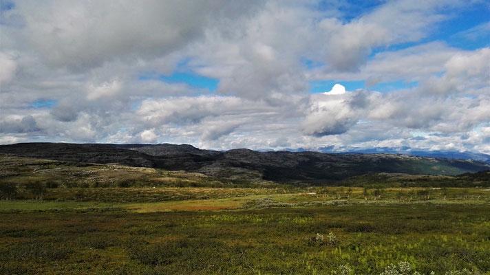 Dann runter ins Tal des Altaelva