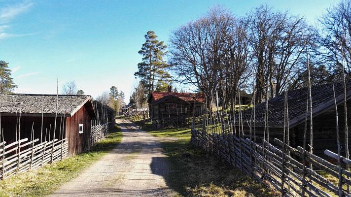 Das Museumsdorf Bastberget