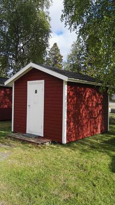 Luxus für zwei Nächte - meine kleine Hütte auf dem Campingplatz